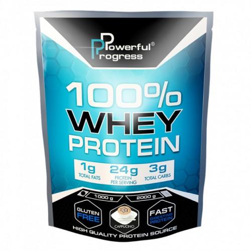 100% Whey Protein, 1 кг - Капучино