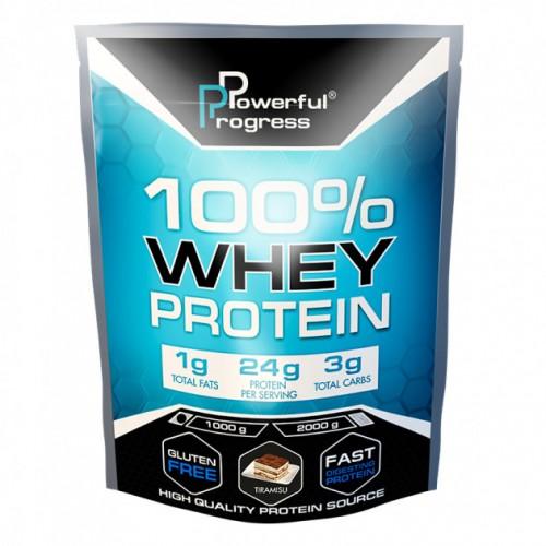 100% Whey Protein, 1 кг - Тирамису