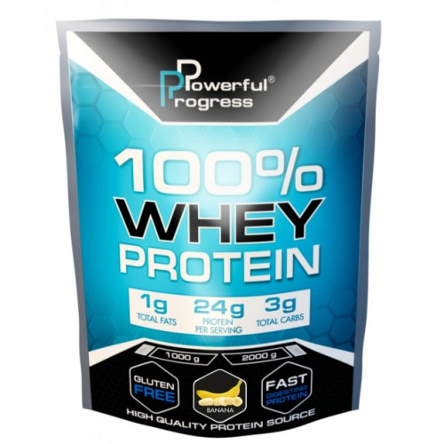 100% Whey Protein, 2 кг - Банан