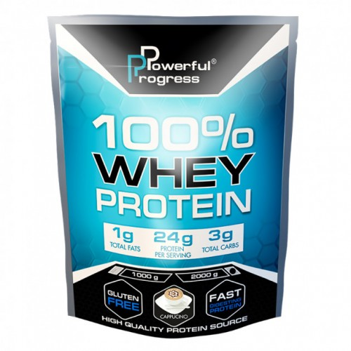 100% Whey Protein, 2 кг - Капучино