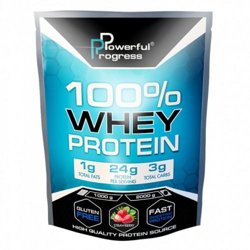 100% Whey Protein, 2 кг - Клубника