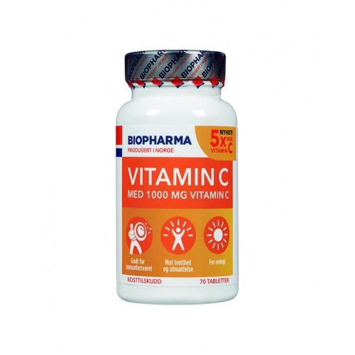 Biopharma Vitamin C 1000 - 70 капсул