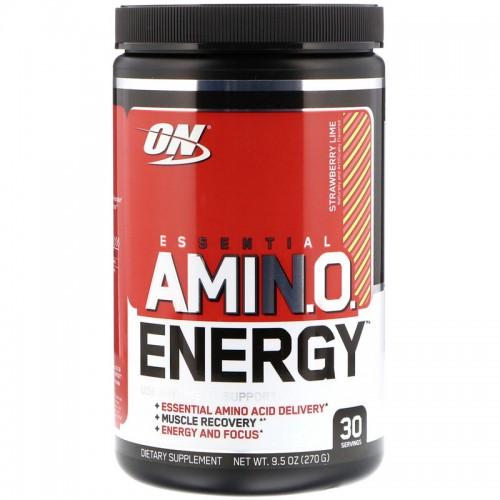 Amino Energy, 30 порций - Клубника-Лайм