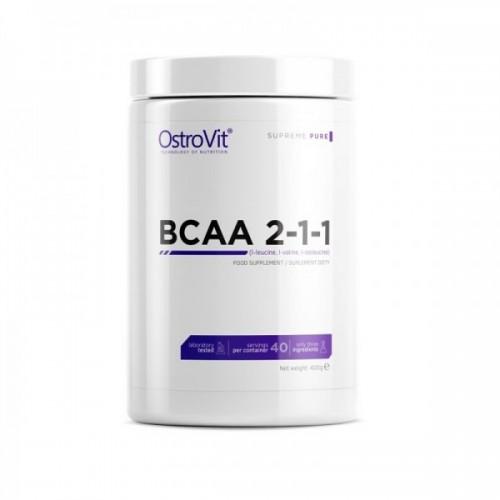 Аминокислота OstroVit Bcaa 2-1-1 400 грамм Апельсин