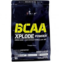 Olimp BCAA Xplode Powder, 1 кг - клубника