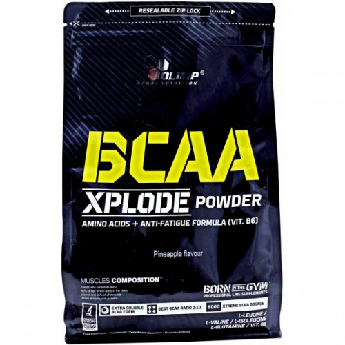 Olimp BCAA Xplode Powder, 1 кг - апельсин