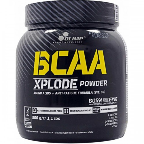 Olimp BCAA Xplode Powder, 500 грамм - лимон