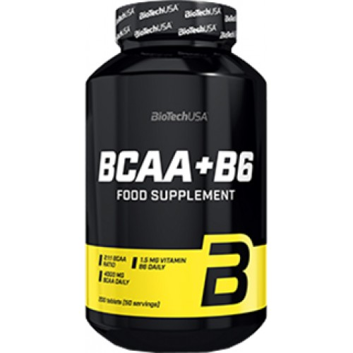 Biotech BCAA + B6 340 таблеток
