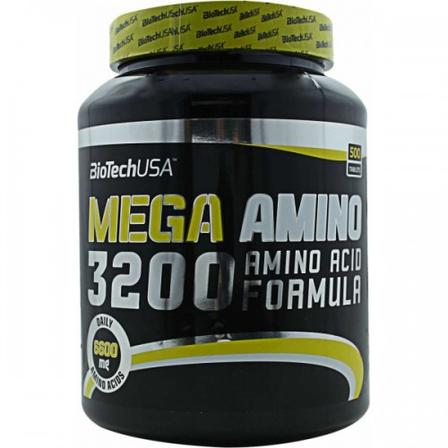 Biotech Mega Amino 3200 500 таблеток