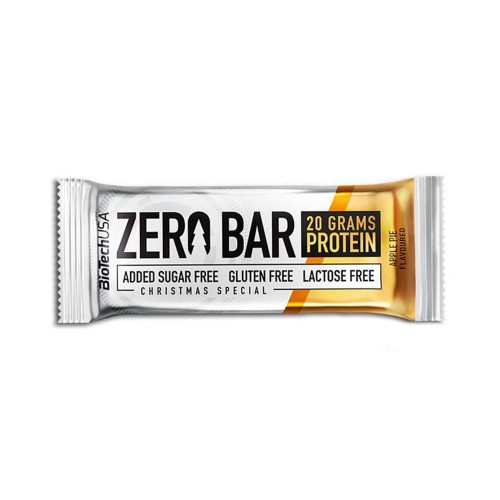 BioTech Zero Bar, 50 грамм - яблочный пирог