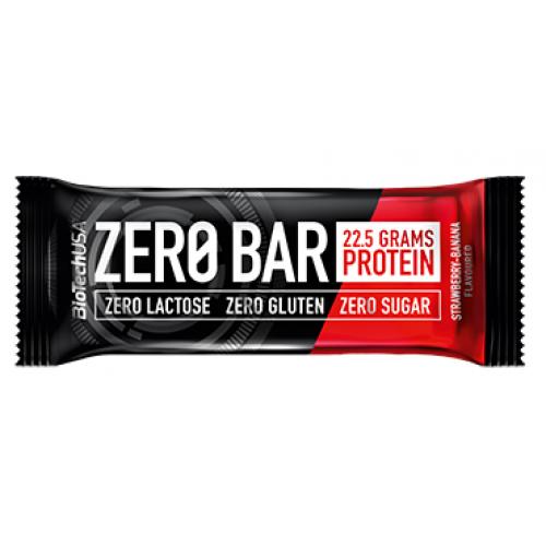 BioTech Zero Bar, 50 грамм - клубника-банан