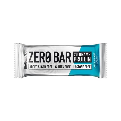 BioTech Zero Bar, 50 грамм - шоколад-мята