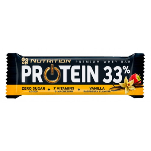 GO ON Nutrition Protein Bar 33% 50 грамм - ваниль-малина