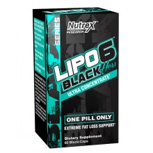 Lipo-6 Black Hers Ultra Concentrate 60 liqui-caps