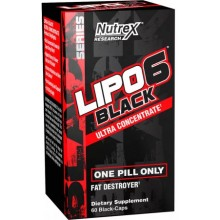 Lipo-6 Black Ultra Concentrate 60 liqui-caps