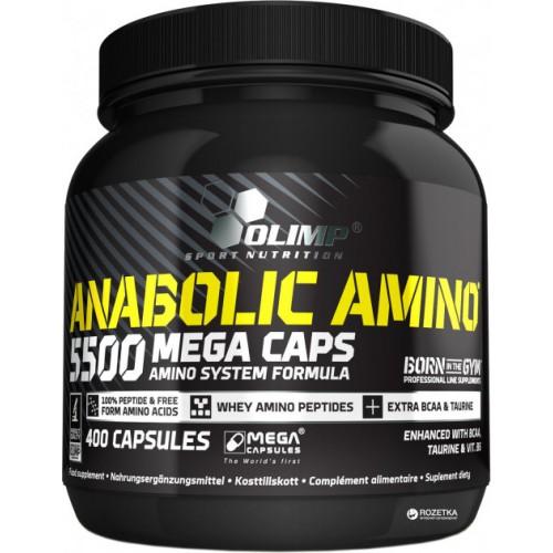 Olimp Anabolic Amino 5500 Mega 400 Caps