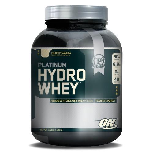 Optimum Platinum Hydro Whey, 1,59 кг - Ваниль