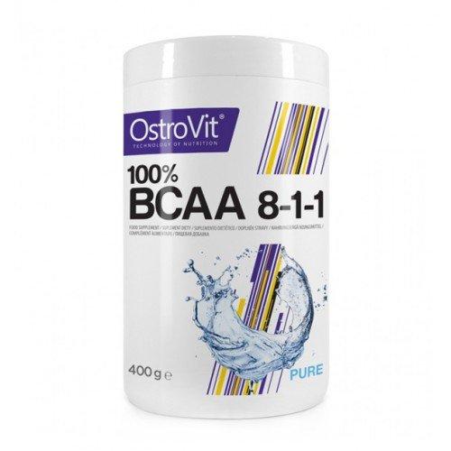 OstroVit Bcaa 8-1-1, 400 грамм - Pure