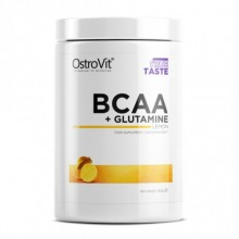 OstroVit BCAA + Glutamine, 500 грамм - Лимон