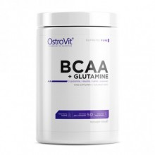 OstroVit BCAA + Glutamine, 500 грамм - Pure