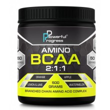 Powerful Progress Amino BCAA 2:1:1, 500г - Ананас