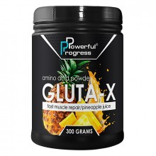 Powerful Progress Gluta-X, 300г - Ананас