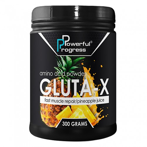 Powerful Progress Gluta-X, 300г - Ананас