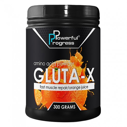 Powerful Progress Gluta-X, 300г - Апельсин