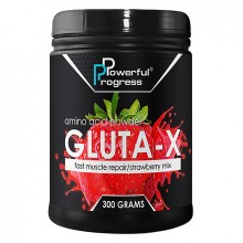 Powerful Progress Gluta-X, 300г - Клубника