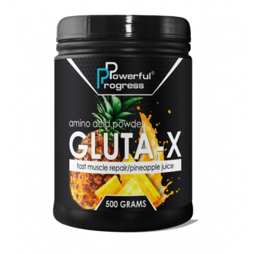 Powerful Progress Gluta-X, 500г - Ананас