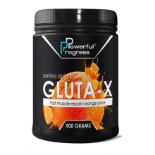 Powerful Progress Gluta-X, 500г - Апельсин