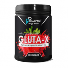 Powerful Progress Gluta-X, 500г - Клубника