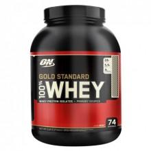 Протеин Optimum Gold Standard 100% Whey, 2.27 кг - Печенье со сливками
