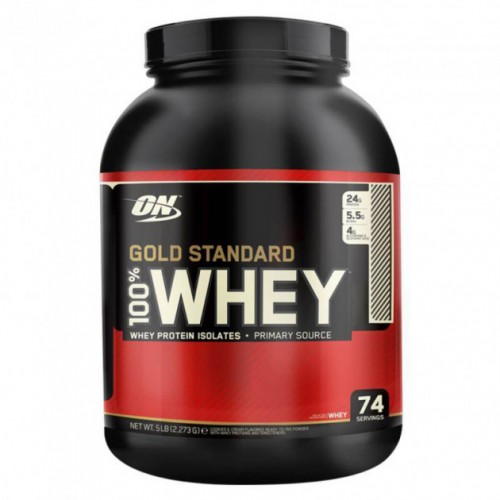 Протеин Optimum Gold Standard 100% Whey, 2.27 кг Клубника