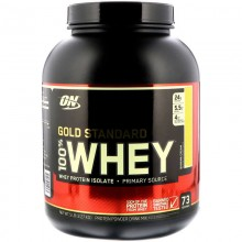 Протеин Optimum Gold Standard 100% Whey, 2.27 кг - Банан