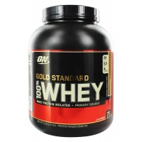 Протеин Optimum Gold Standard 100% Whey, 2.27 кг - Карамель-Тоффи