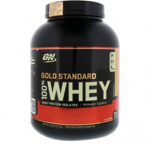 Протеин Optimum Gold Standard 100% Whey, 2.27 кг - Кекс