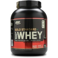 Протеин Optimum Gold Standard 100% Whey, 2.27 кг - Кофе