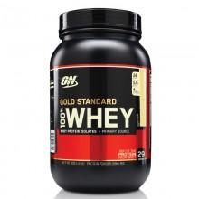 Протеин Optimum Gold Standard 100% Whey, 909 г - Айс ваниль