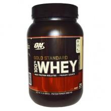 Протеин Optimum Gold Standard 100% Whey, 909 г - Французский крем с ванилью