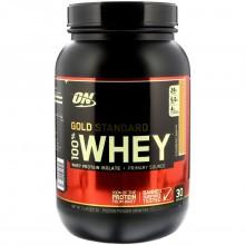Протеин Optimum Gold Standard 100% Whey, 909 г - Клубника банан