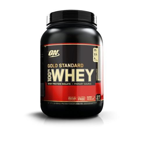 Протеин Optimum Gold Standard 100% Whey, 909 г - Печенье с кремом