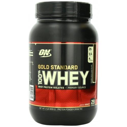 Протеин Optimum Gold Standard 100% Whey, 909 г - Пирожное