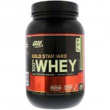 Протеин Optimum Gold Standard 100% Whey, 909 г - Шоколад мята