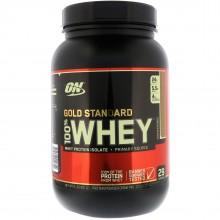 Протеин Optimum Gold Standard 100% Whey, 909 г - Шоколадный солод
