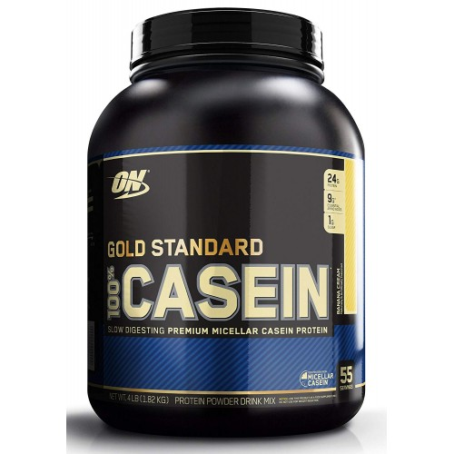 Протеин Optimum Nutrition 100% Casein Gold Standard, 1818 г - Банан