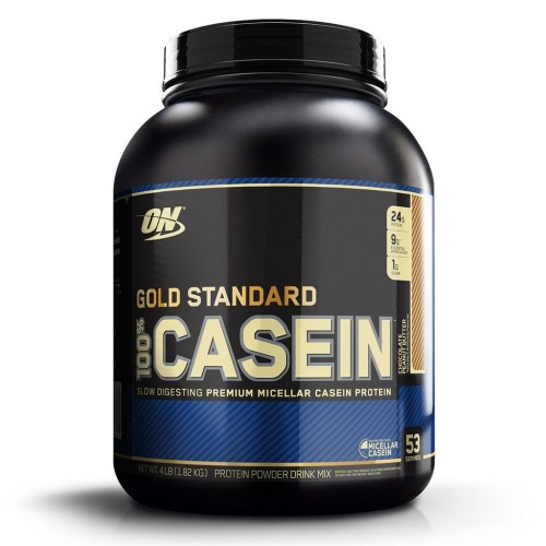 Протеин Optimum Nutrition 100% Casein Gold Standard, 1818 г - Шоколадная арахисовая паста
