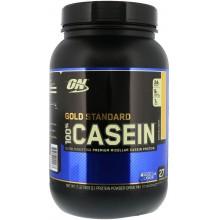 Протеин Optimum Nutrition 100% Casein Gold Standard, 909 г - Банан