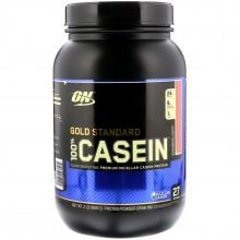 Протеин Optimum Nutrition 100% Casein Gold Standard, 909 г - Клубника