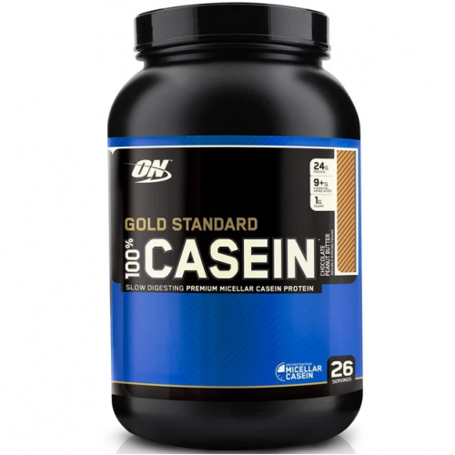 Протеин Optimum Nutrition 100% Casein Gold Standard, 909 г - Шоколадная арахисовая паста